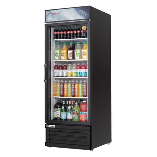 Everest Refrigeration EMGR24B - Refrigerated Merchandiser, 25.04 Cubic Feet