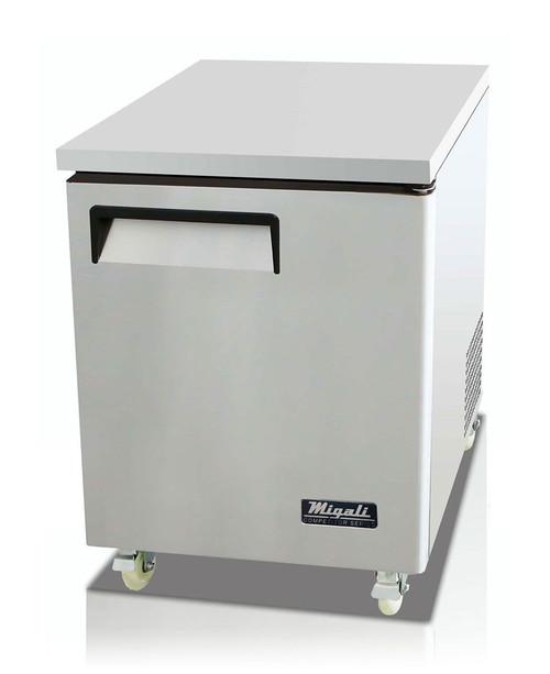 "Migali C-U27F 27"" Under-counter & Work Top Freezer"