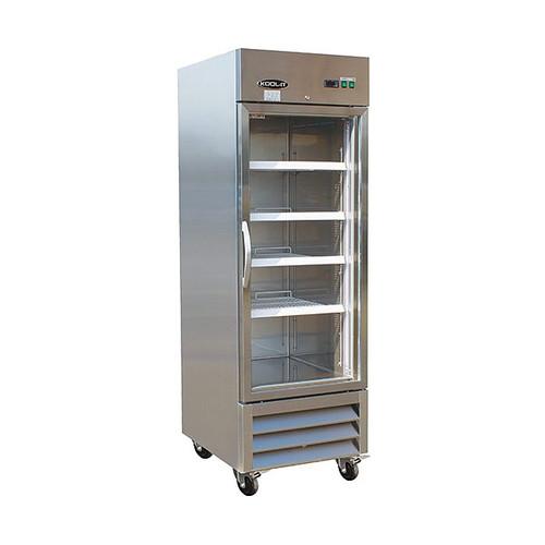 """Ikon Series IB27RG 26"""" Glass Door Refrigerator, 1 Door"""