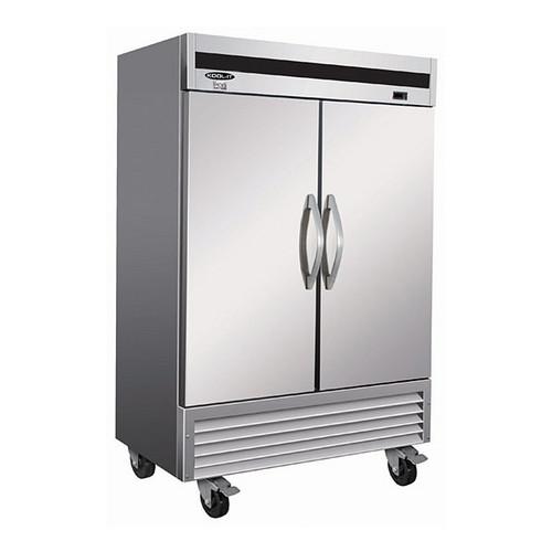 "Ikon Series IB54R 53"" Reach-In Bottom Mount Refrigerator, 2 Doors"