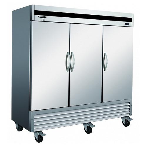 Ikon Series IB81F-DV Solid Door Freezer, 3 Doors
