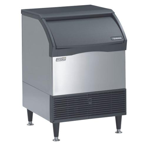 Scotsman CU1526MA-1E 150Lb. Self-Contained Undercounter Ice Machine, Medium Cube, Air-Cooled, 115v