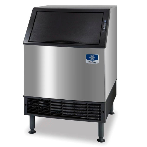 Manitowoc UDF0240W-161B Water Cooled Undercounter Full Cube Ice Maker, 197 lbs, 115V
