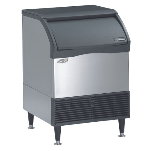 Scotsman CU2026SA-1E 200Lb. Self-Contained Undercounter Ice Machine, Small Cube, Air-Cooled, 115v