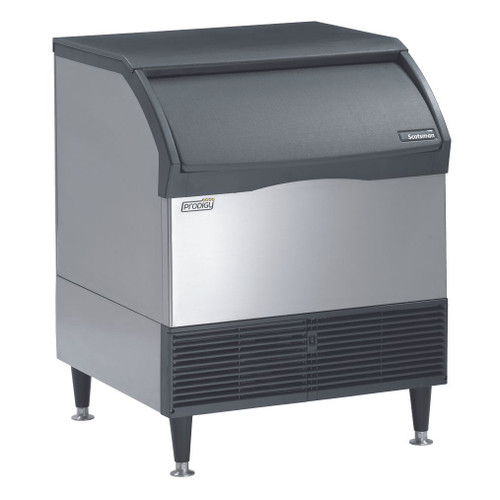 Scotsman CU3030SA-1E 300Lb. Self-Contained Undercounter Ice Machine, Small Cube, Air-Cooled, 115v