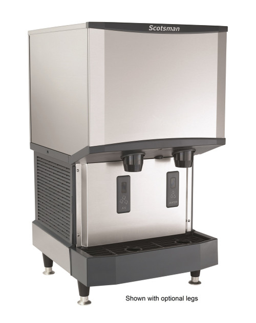 Scotsman HID525AW-1A Ice Machine and Dispenser, 115v