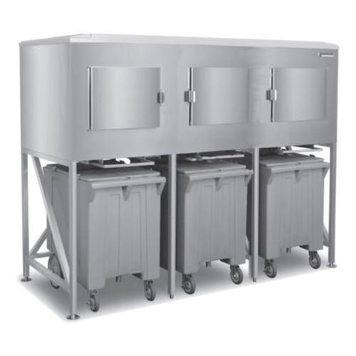 Scotsman ICS-3-SL Ice Express System, 3 Bay with extension