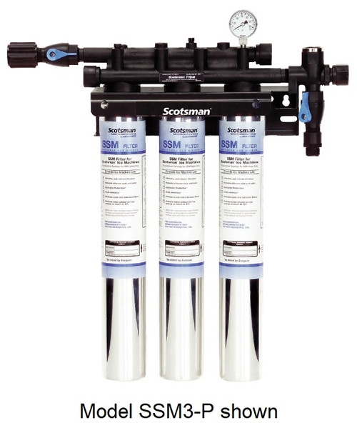 Scotsman SSM2-P SSM Plus Twin Water Filter System