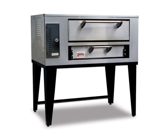 "Marsal SD-236-1-NG 52"" Pizza Deck Oven, Single Deck, Natural Gas"