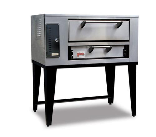 "Marsal SD-236-2-LP 52"" Pizza Deck Oven, Double Deck, Propane Gas"