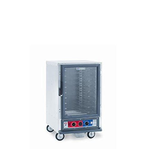 Metro C515-CFC-L Non-Insulated Mobile Heated Cabinet, 1/2 height