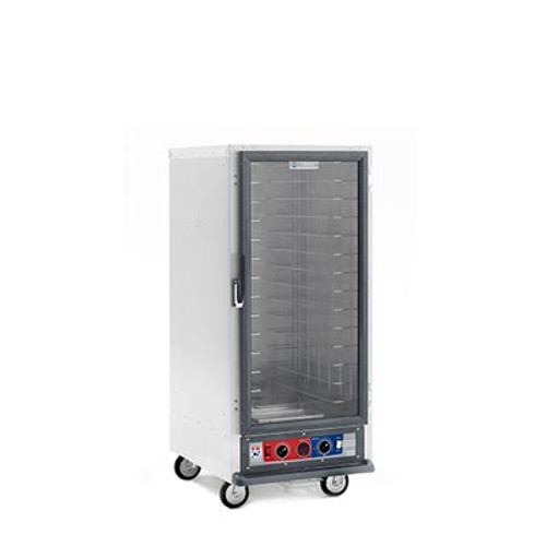 Metro C517-PFC-L Non-Insulated Mobile Heated Cabinet, 3/4 height