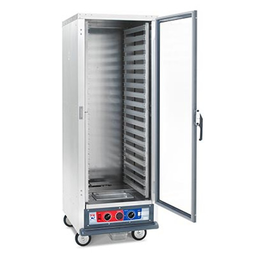 Metro C519-PFC-L Non-Insulated Mobile Heated Cabinet, Full height