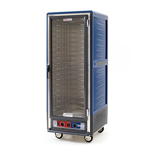 Metro C539-MFS-U Insulation Armor Heated Holding and Proofing Cabinet, Full Height, Blue