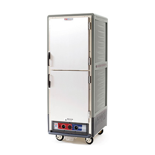 Metro C539-CDS-L Insulation Armor Heated Holding and Proofing Cabinet, Full Height, Gray