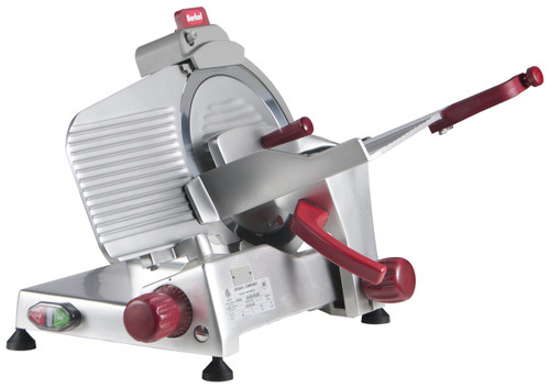 "Berkel 825E-PLUS 10"" Manual Gravity Feed Meat Slicer - 1/4 hp"