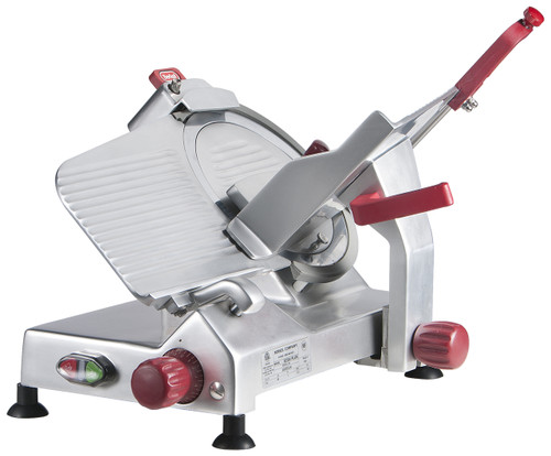 "Berkel 825A-PLUS 10"" Manual Gravity Feed Meat Slicer - 1/3 hp"