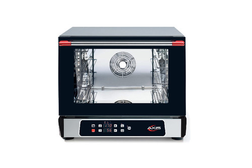 "Axis AX-513RHD 22"" Half Size Convection Oven with Humidity - 3 Shelves, Digital Controls"