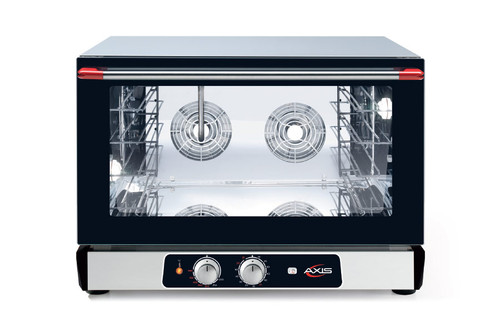 Axis AX-824RH Full Size Convection Oven with Humidity, 208/240v