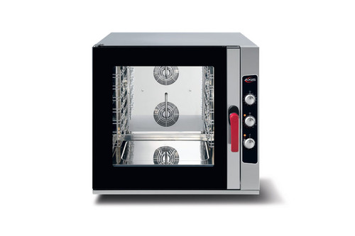 "Axis AX-CL6M 38"" Full Size Combi Oven - 6 Shelves, Manual Control, 208/240v"