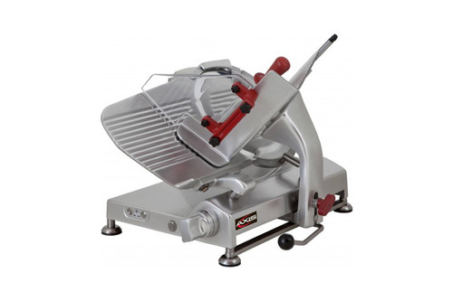 "Axis AX-S13G Meat Slicer, 13"" Blade, Gear Driven, 115v"