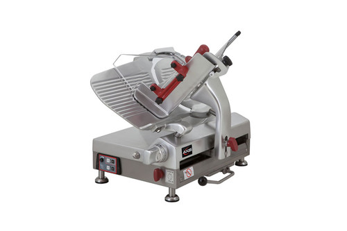 "Axis AX-S13GA Meat Slicer, 13"" Blade, Gear Driven, Automatic, 115v"
