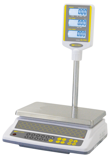 Easy Weigh CK-P60PLUS Price Computing Scale w/ Pole Display, 60 lb
