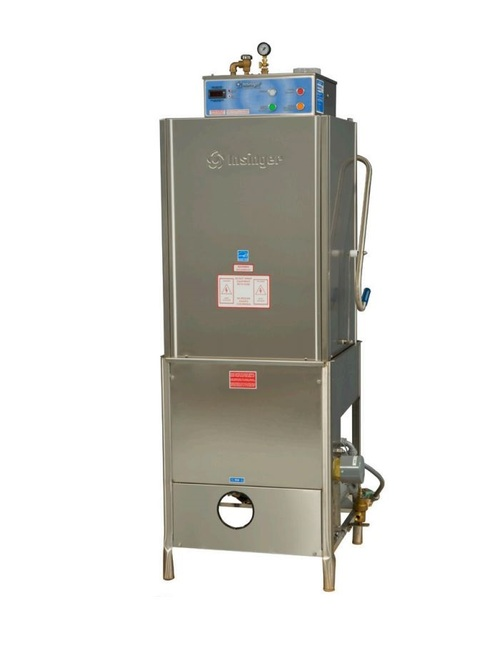 Insinger 18-6H High Temperature Door Type Dishwasher - Extra High, 208/240V