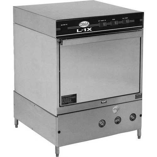 CMA L-1X Low Temperature Undercounter Dishwasher with Heater- 115V