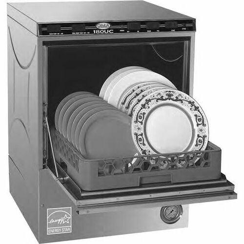CMA 180UC High Temperature Undercounter Dishwasher with Disenser- 208/240v