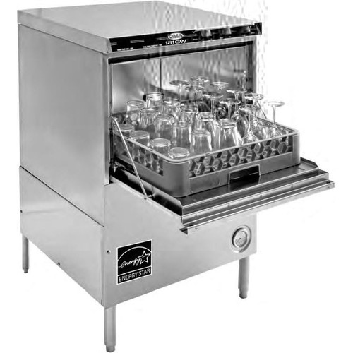 CMA 181GW High Temperature Glasswasher - 208/240v, 3 Phase