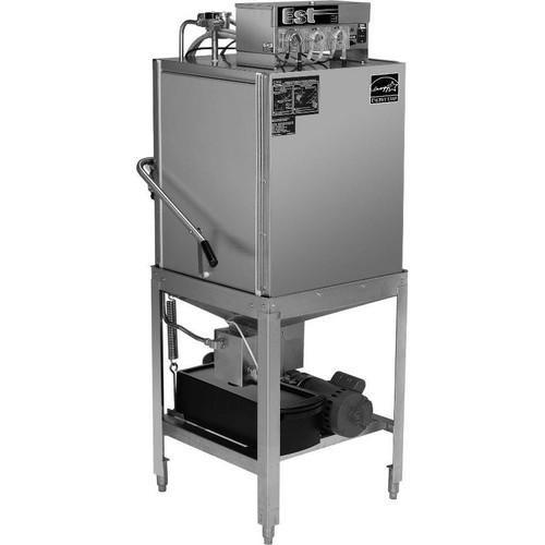 CMA EST-C Corner Low Temperature Dishwasher - 115V