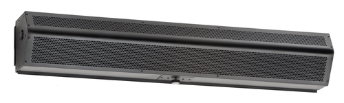 "Mars LPN2120-2UA-OB LoPro2 Series Air Curtain, 120"" wide, Obsidian Black"