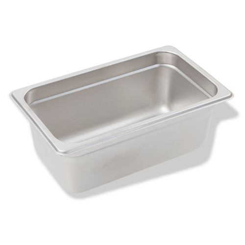 "Crestware 2144 SAF-T-STAK Fourth Size x 4"" Pan"