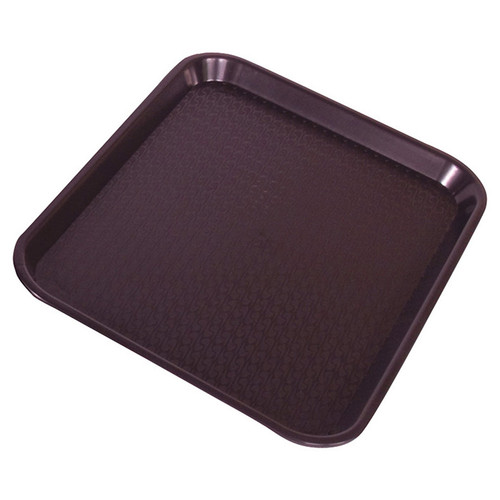 Crestware FFT1014BR Fast Food Tray 10x14 Brown