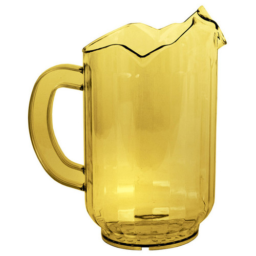 Crestware P60ASP 3 Spout 60 oz Amber Pitcher