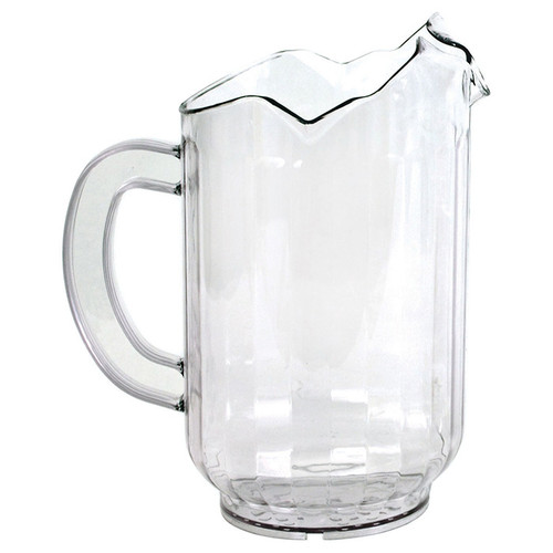 Crestware P60SP 3 Spout 60 oz Water Pitcher