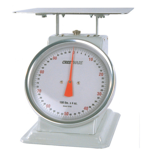 """Crestware SCA605R 6"""" Rotating Dial Scale 5# x 1/2 oz"""