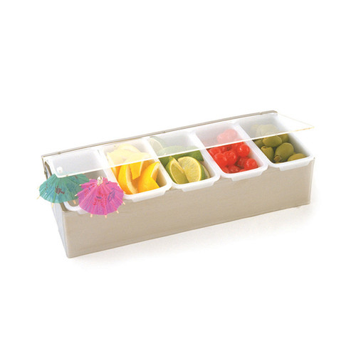 Crestware SCD5 5 Box Condiment Dispenser