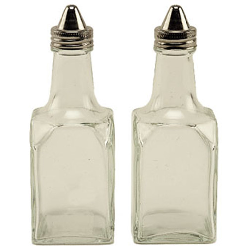 Crestware SHKROVC 6 oz Oil & Vinegar Cruet