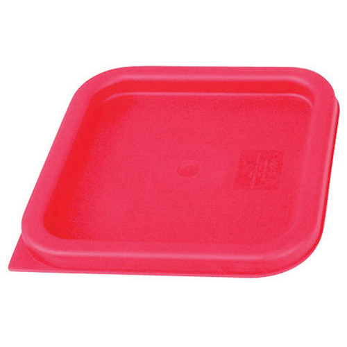 Crestware SQCL68 Red Lid for 6 and 8 qt Container