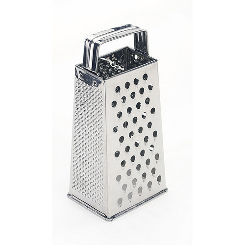 Crestware SSG4 Stainless Steel Tapered Sided Grater