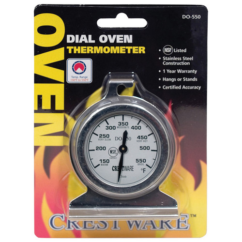 Crestware TRMDO550 Dial Oven Thermometer