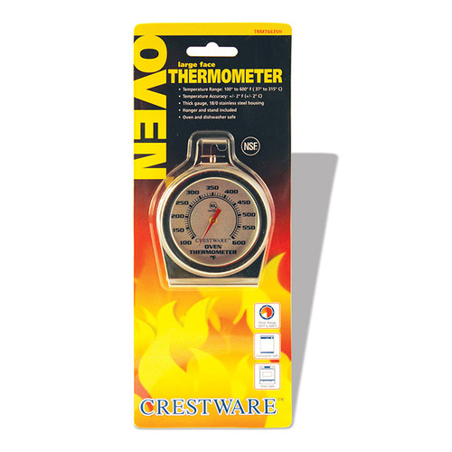Crestware TRMT663SH Oven Thermometer Large Face
