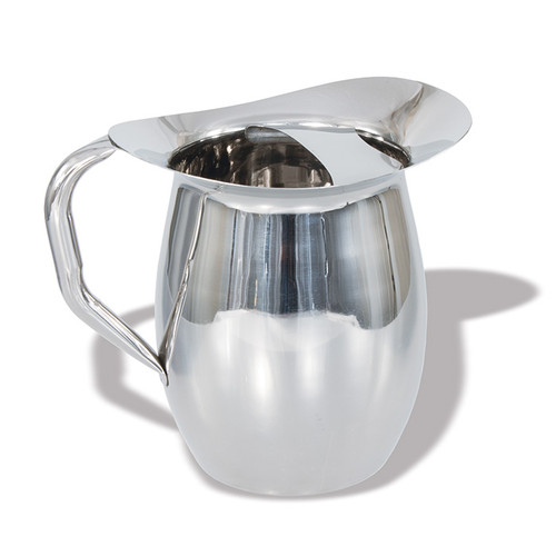 Crestware WBP3 3 Qt. Bell Pitcher Stainless Steel