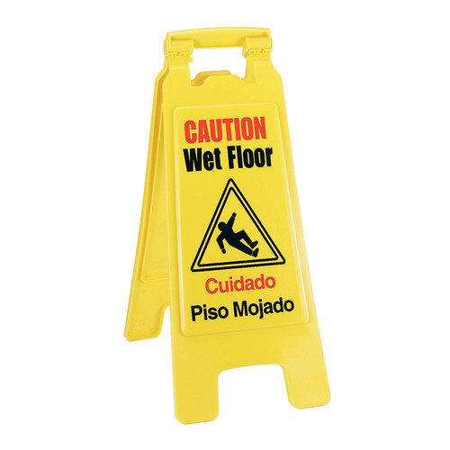 Crestware WFS Folding Wet Floor Sign