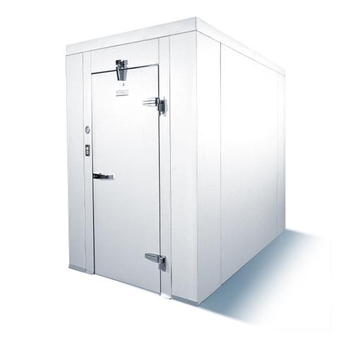 Mr. Winter 6X6CWF-TOPMOUNT Walk-In Cooler With Floor, 6' x 6', Top Mount Refrigeration Unit (6X6CWF-TOPMOUNT)