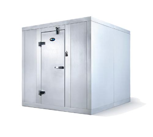 "Amerikooler QC060672**NBRC-O Walk-In Cooler, Remote, Floorless, Outdoor, 6'W x 6'Lx 7'-2 1/4""H, 1/2 HP (QC060672**NBRC-O"