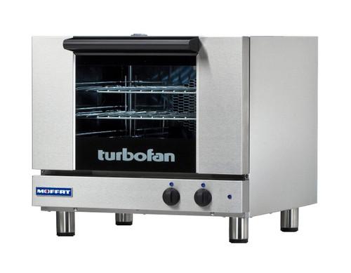 Moffat E22M3 3 Tray Half Size Electric Convection Oven, Manual Control, 110-120V (E22M3)