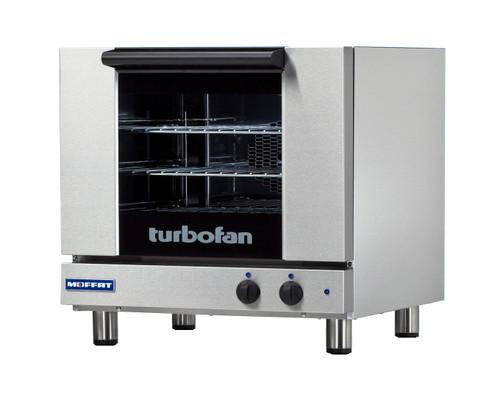 Moffat E23M3-T 3 Tray Half Size Electric Convection Oven, Manual Control, 220V (E23M3-T)